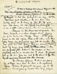 Liza of Lambeth manuscript