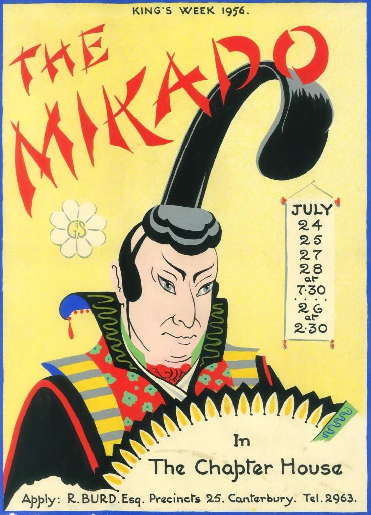Mikado poster 1956