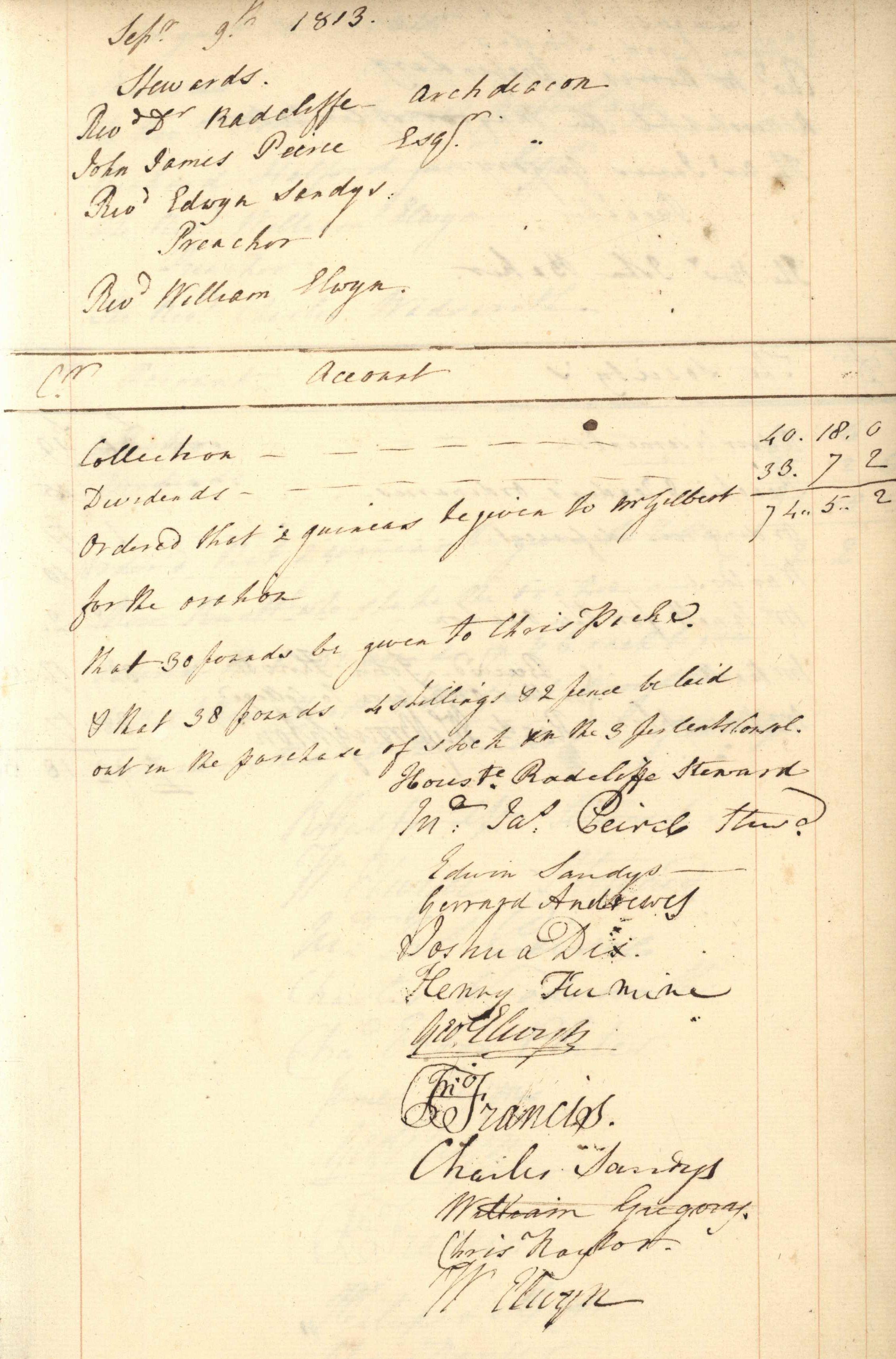 Feast Society 1759-1823 Gilbert